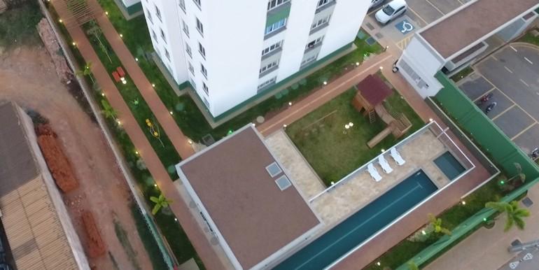 Área de Lazer - vista superior