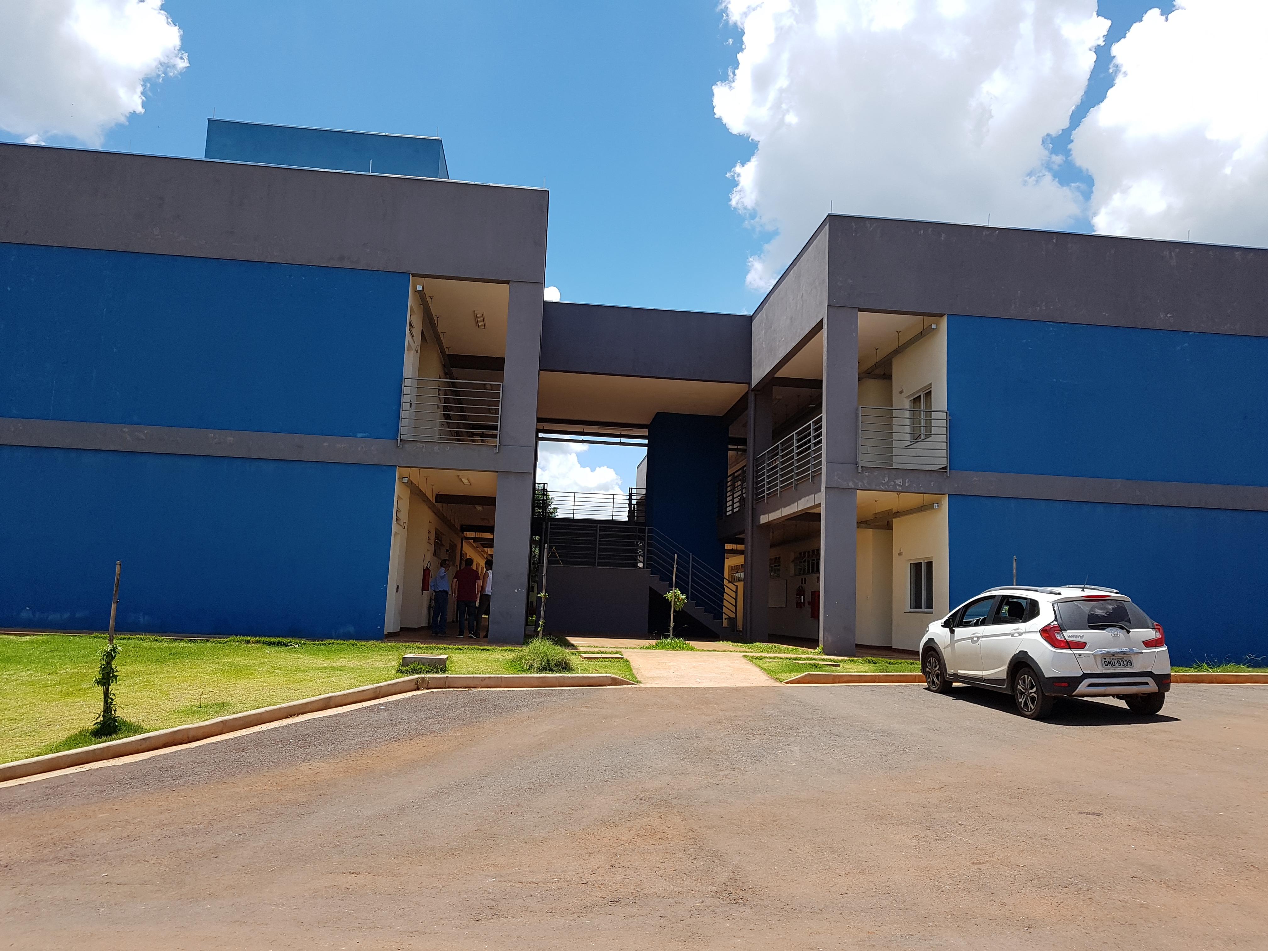 Pavilhão de Aulas da Universidade Federal de Lavras – UFLA (Campus São Sebastião do Paraíso-MG)